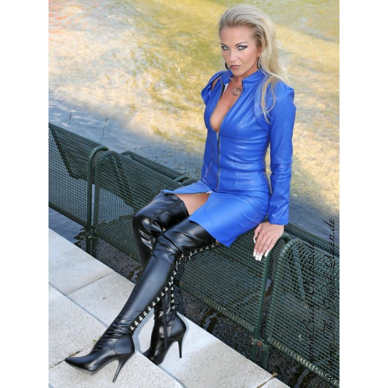 Overknee Seduce-3063 Faux Leather : Crazy-Outfits