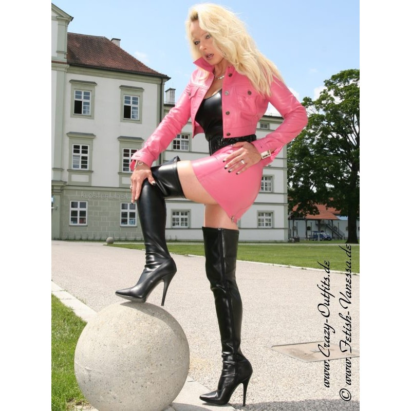 Overknee Seduce 3000 Faux Leather Crazy Outfits
