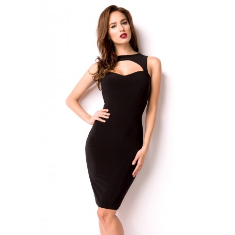 Cocktail dress 12893 black
