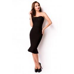 Bandage-Shape-Kleid 14287 Schwarz