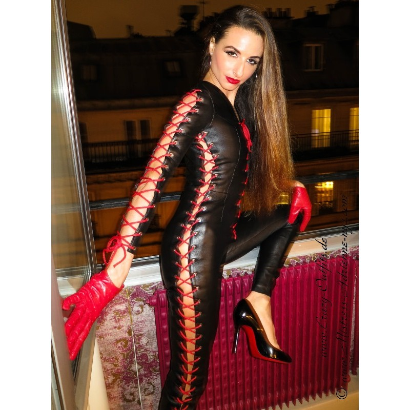 Leather Catsuit 4 032 Crazy Outfits Webshop For