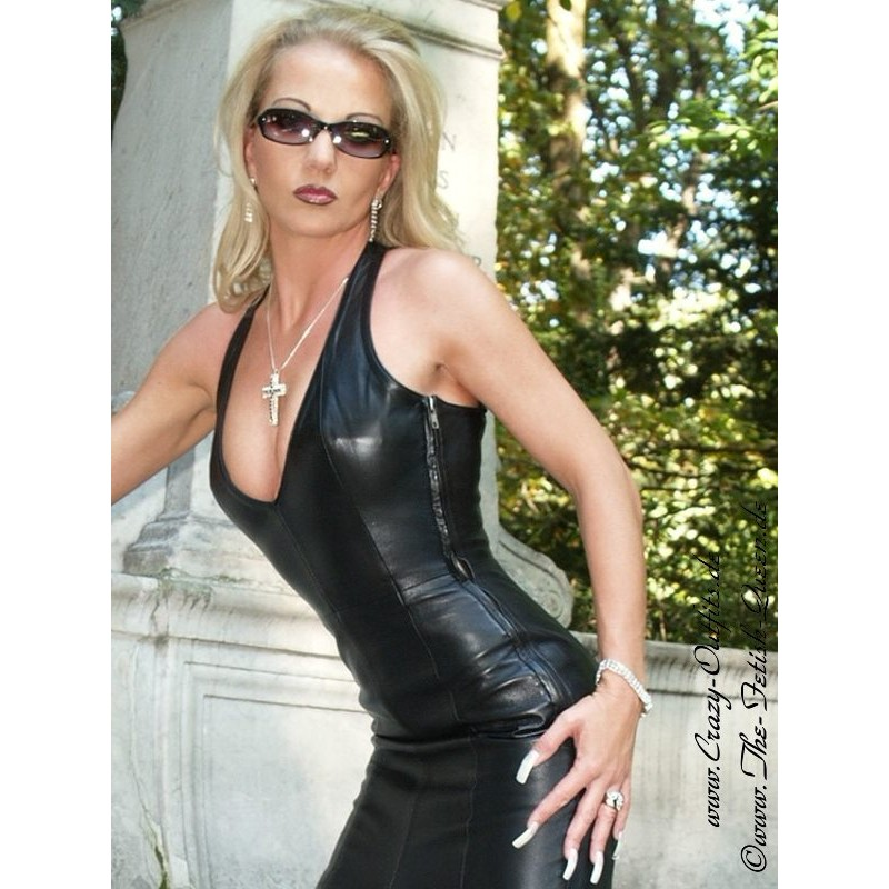 Leather Dress 4 058 Crazy Outfits Webshop For Leather
