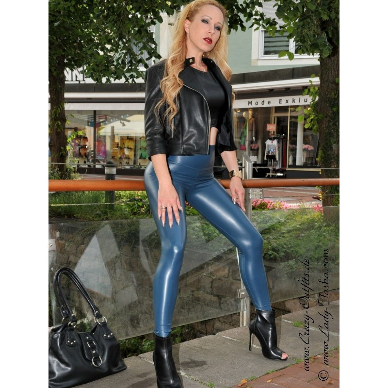faux leather leggings razer crazyoutfits webshop for