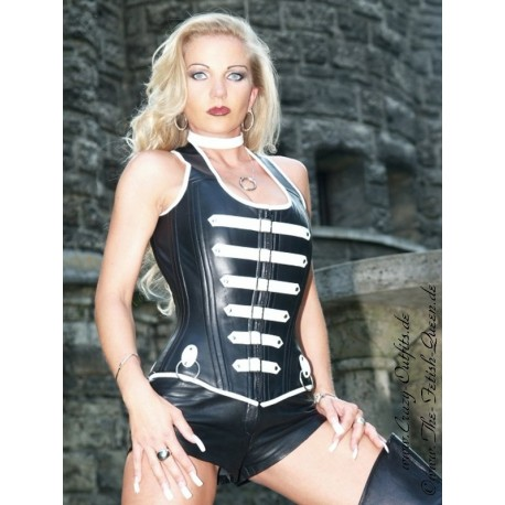 leather corset 3140  crazyoutfits  webshop for leather
