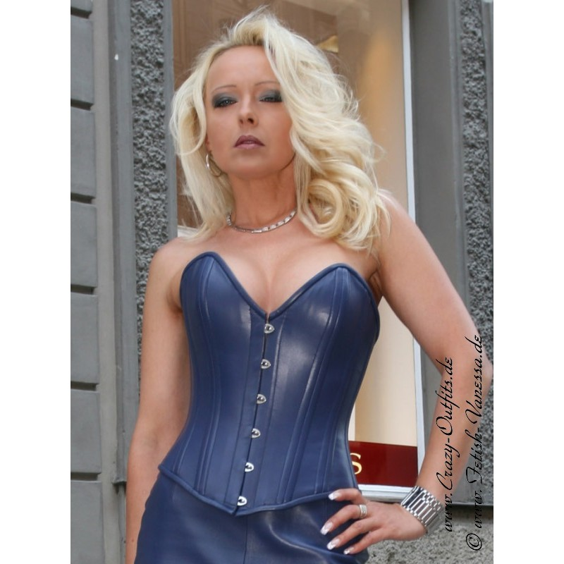 37c9b329c0 Leather corset 3-127   Crazy-Outfits - webshop for leather clothing ...