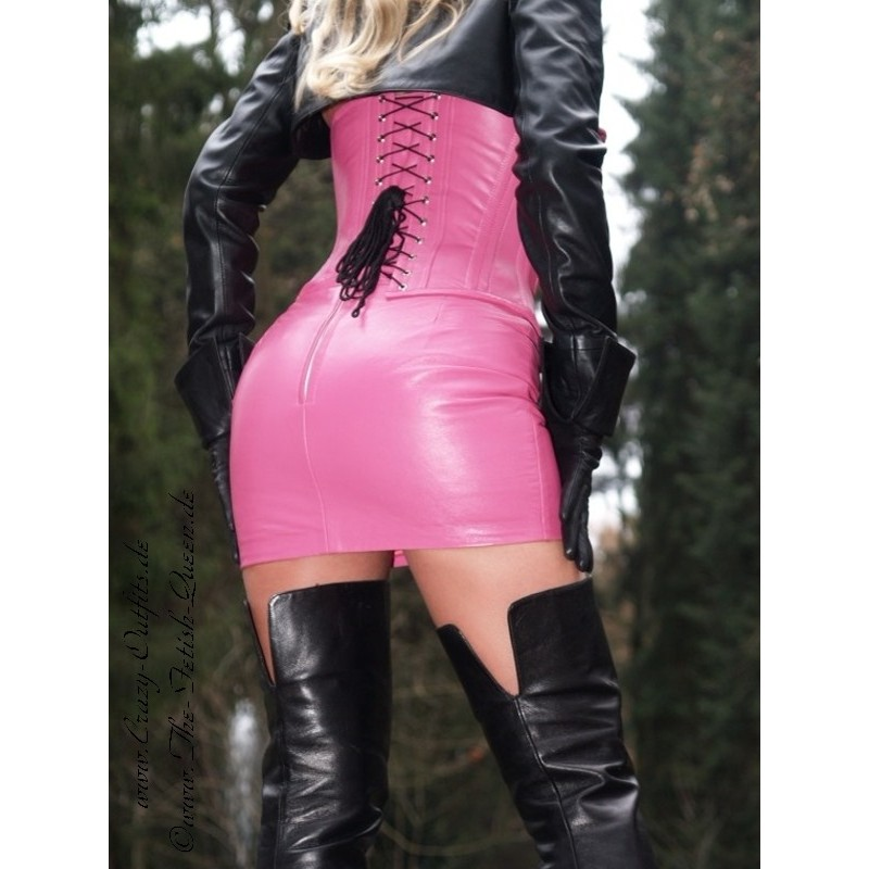 Leather Corset 3-127  Crazy-Outfits - Webshop For Leather -7919