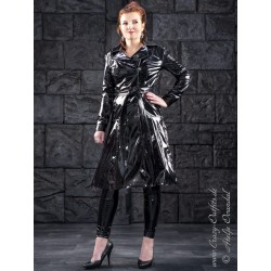 Vinyl coat DS-624V black