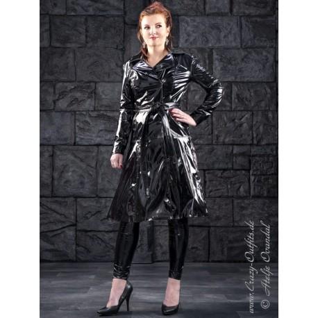Vinyl coat DS-624V black