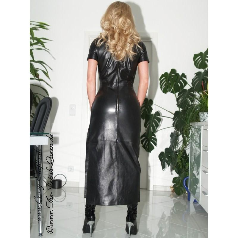 Lederkleid Lang Ds 004 Crazy Outfits Webshop F 252 R