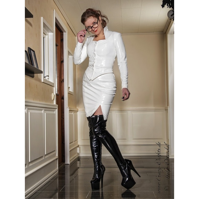Vinyl Skirt Ds 050rv Crazy Outfits Webshop For Leather