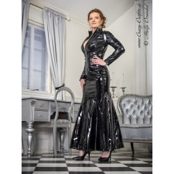 Vinyl skirt SSW-030V black