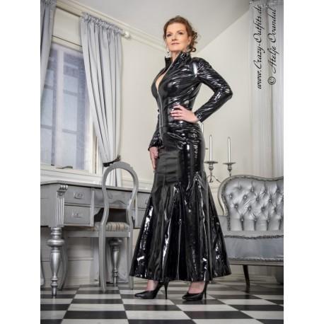 Vinyl skirt SSW-030V black