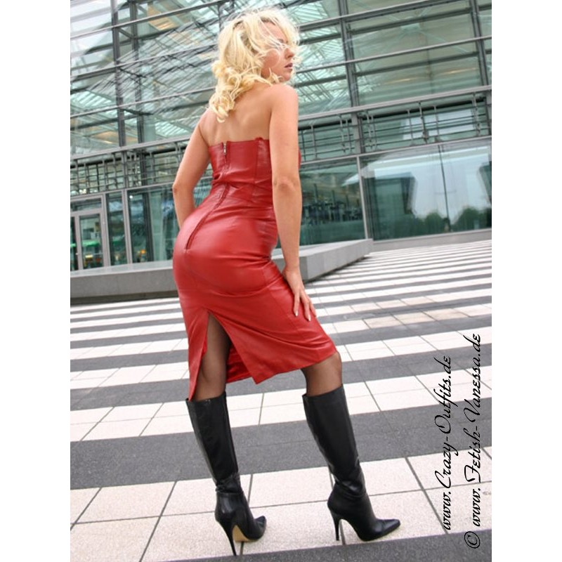 Leather Dress Ds 005 Crazy Outfits Webshop For Leather
