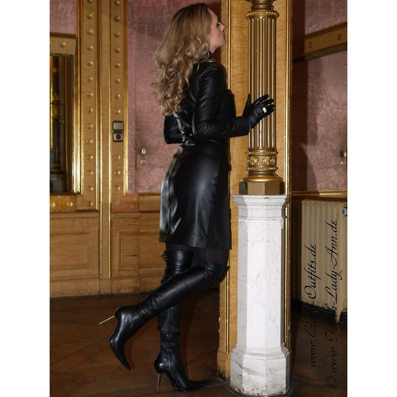 Leather Dress Ds 006 Crazy Outfits Webshop For Leather