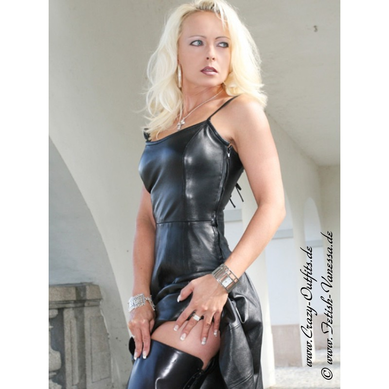 Leather Dress Ds 011 Crazy Outfits Webshop For Leather