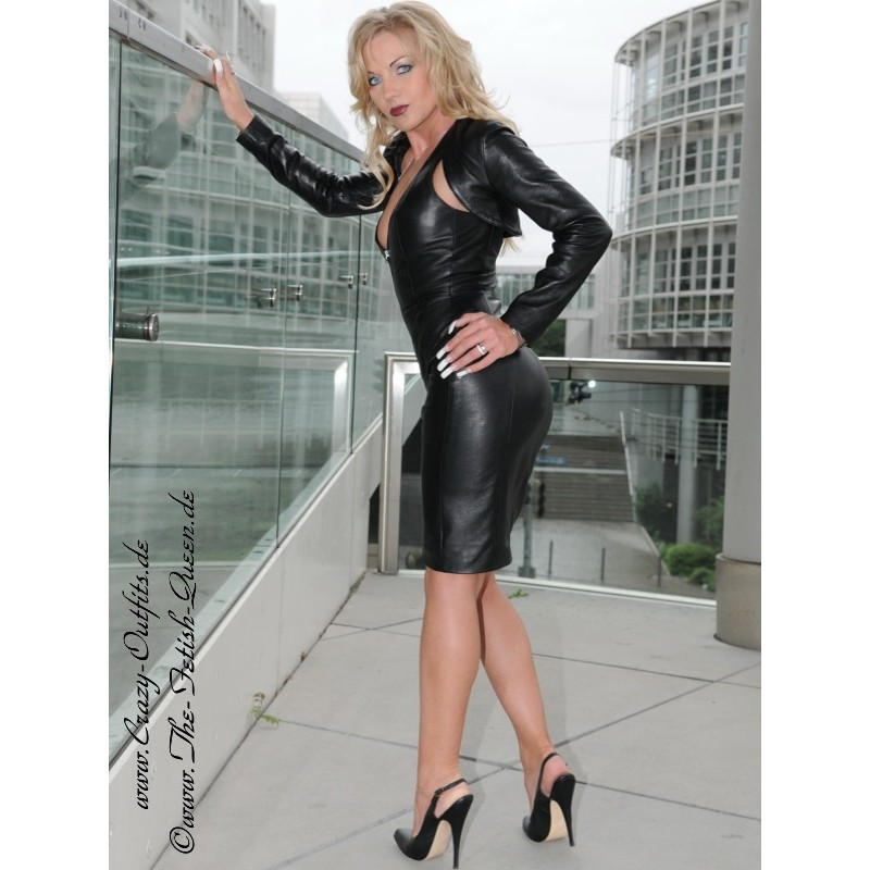 Leather Dress Ds 031 Crazy Outfits Webshop For Leather