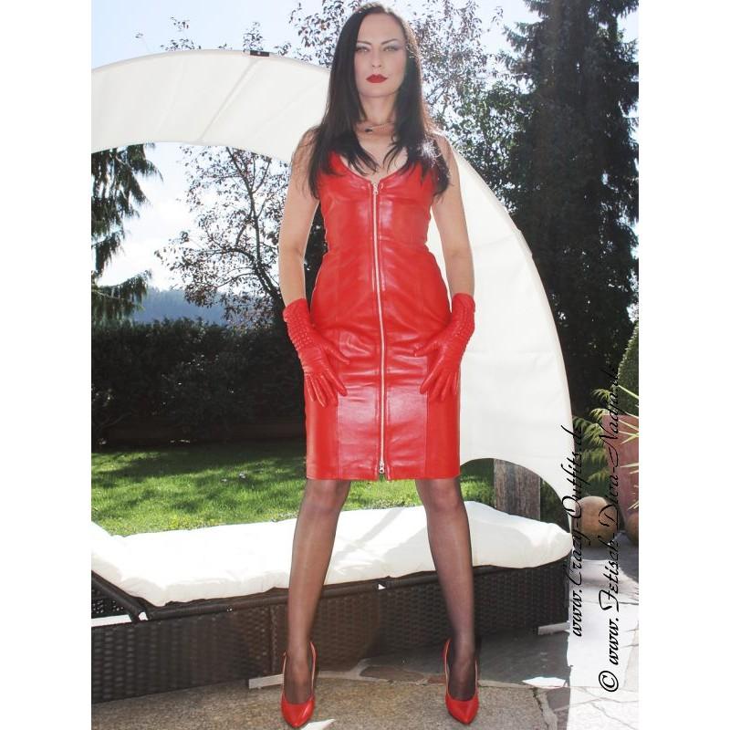 lederkleid ds 031 crazy outfits webshop f r lederbekleidung schuhe mehr. Black Bedroom Furniture Sets. Home Design Ideas