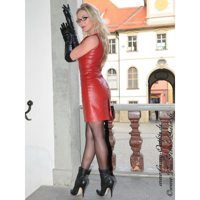 Leather Dress Ds 036 Crazy Outfits Webshop For Leather
