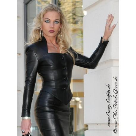 Lederjacke DS 050T : Crazy Outfits Webshop für