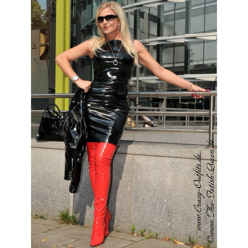 Vinyl Dress Ds 036v Crazy Outfits Webshop For Leather
