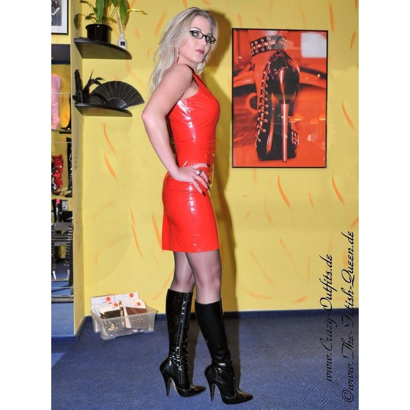 Vinyl Dress Ds 036v Crazy Outfits Webshop For Leather