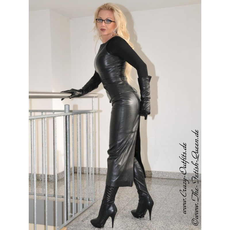 Leather Skirt Ds 072 Crazy Outfits Webshop For Leather