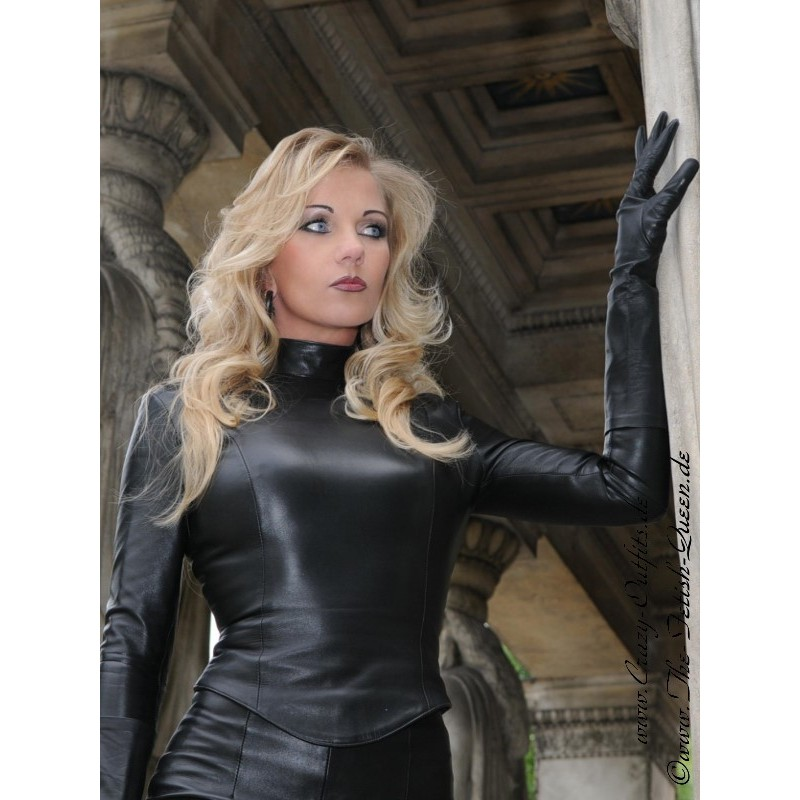 Leather top DS-100 : Crazy-Outfits - webshop for leather ...