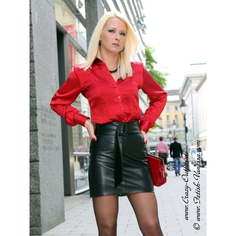Leather skirt DS-103 : Crazy-Outfits
