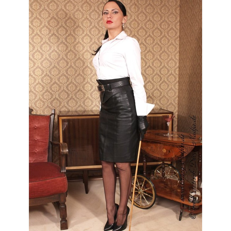 leather skirt ds105 crazyoutfits webshop for leather