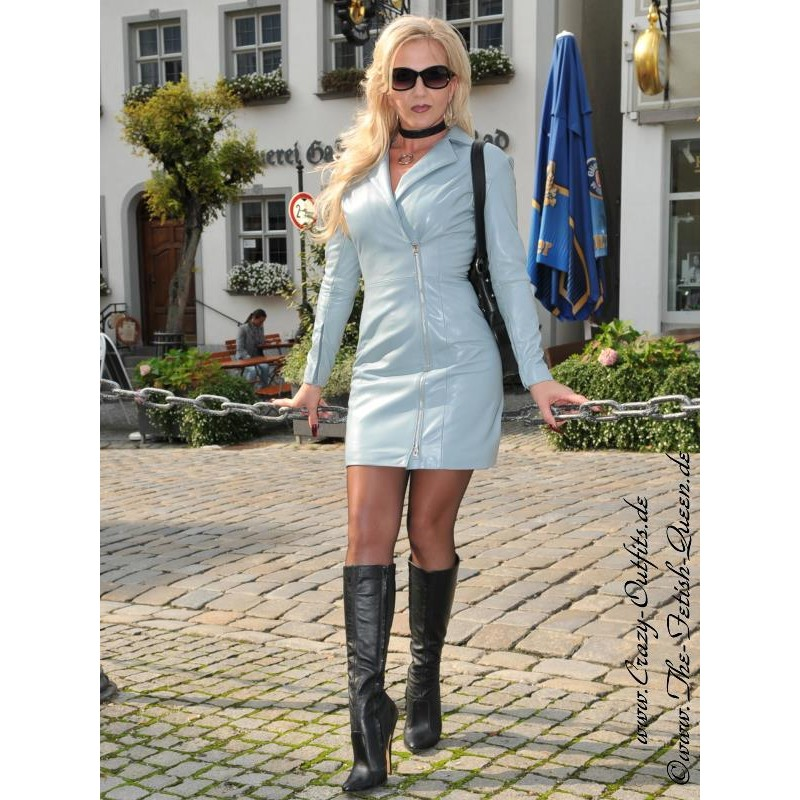 Leather Dress Ds 118 Crazy Outfits Webshop For Leather