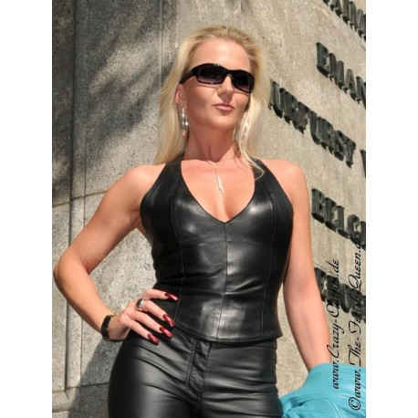 Leather top DS-300 black