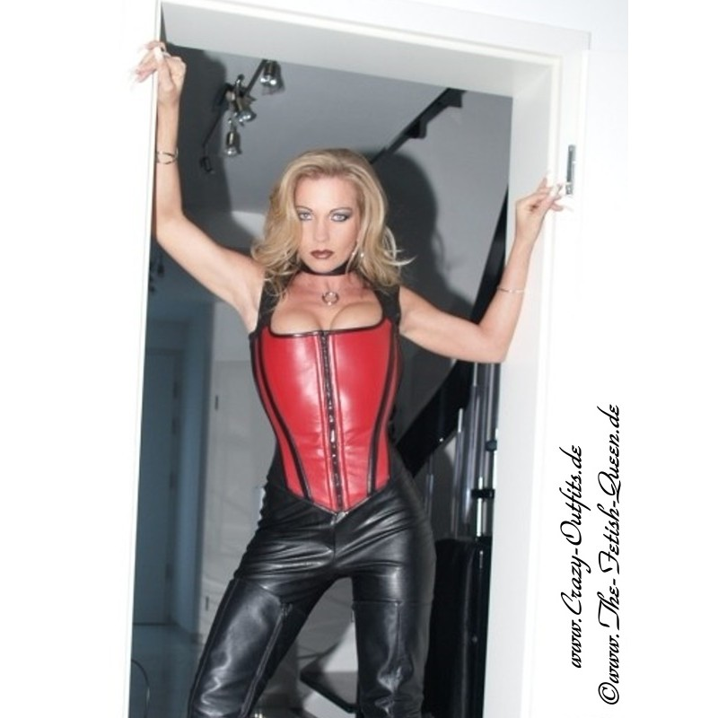 Leather Top With Zipper 3 126 Crazy Outfits Webshop