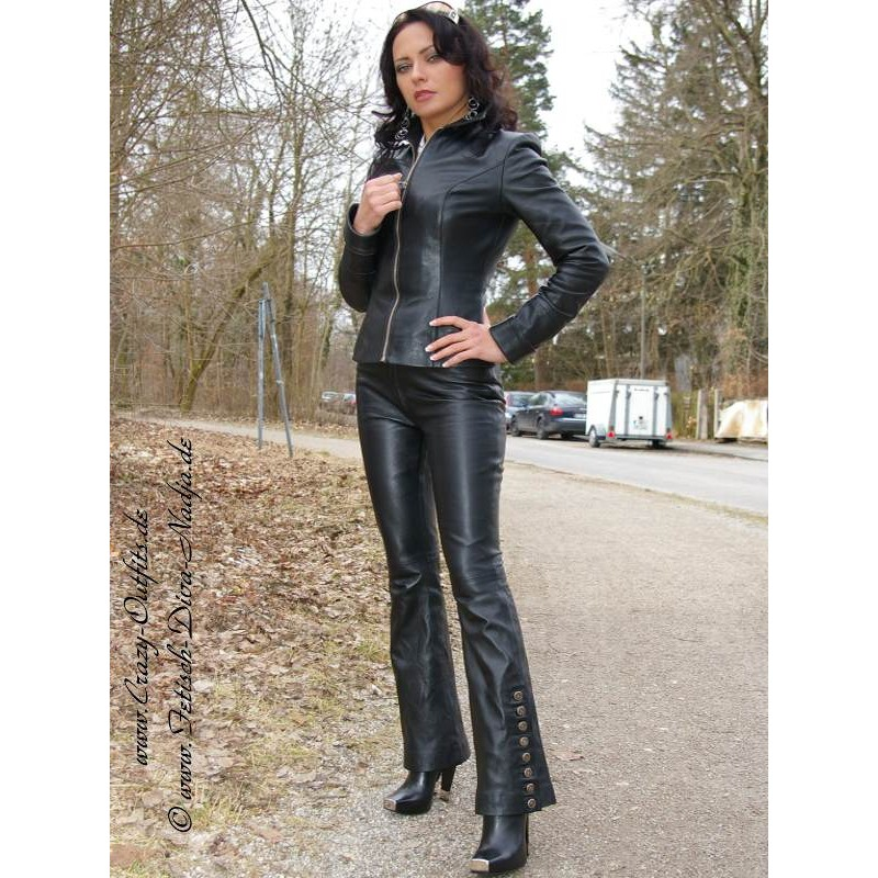 Leather Trouser Ds 408 Crazy Outfits Webshop For