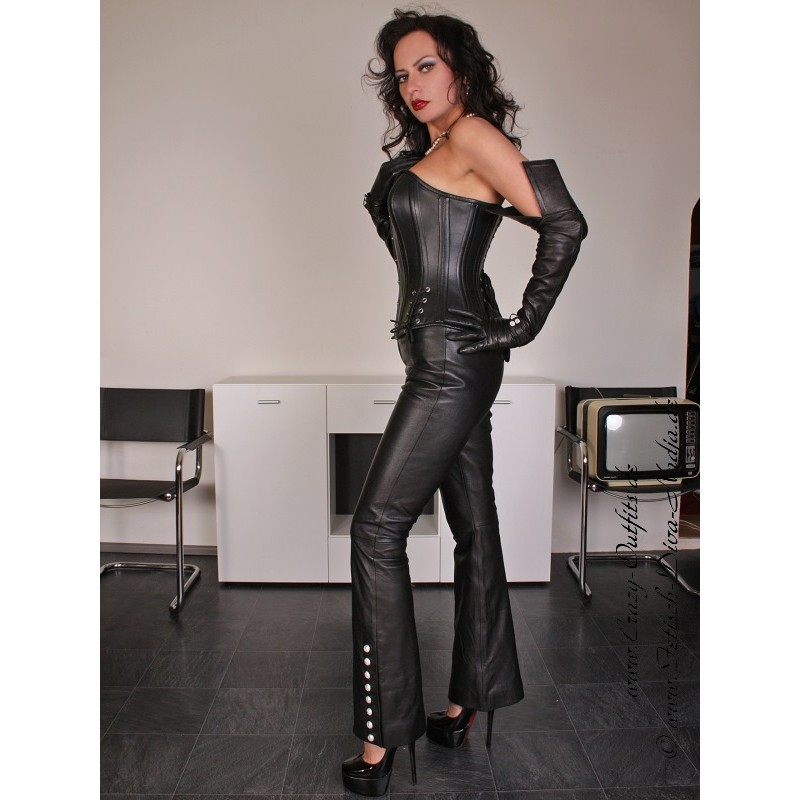 Leather Trouser Ds 409 Crazy Outfits Webshop For