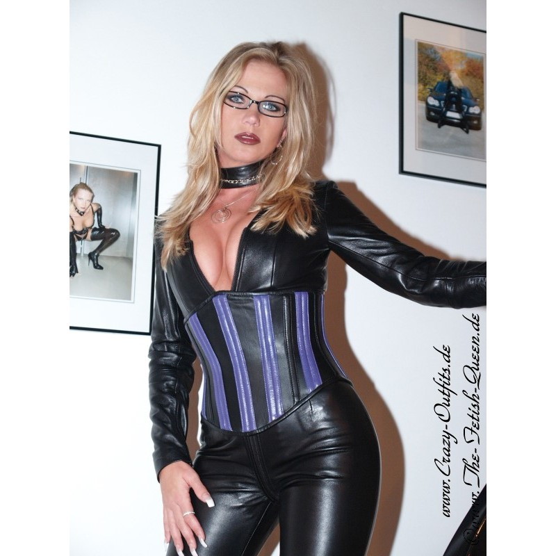 Leather corset 2-109 : Crazy-Outfits