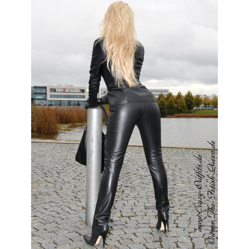 Leather Trouser DS-412 : Crazy-Outfits