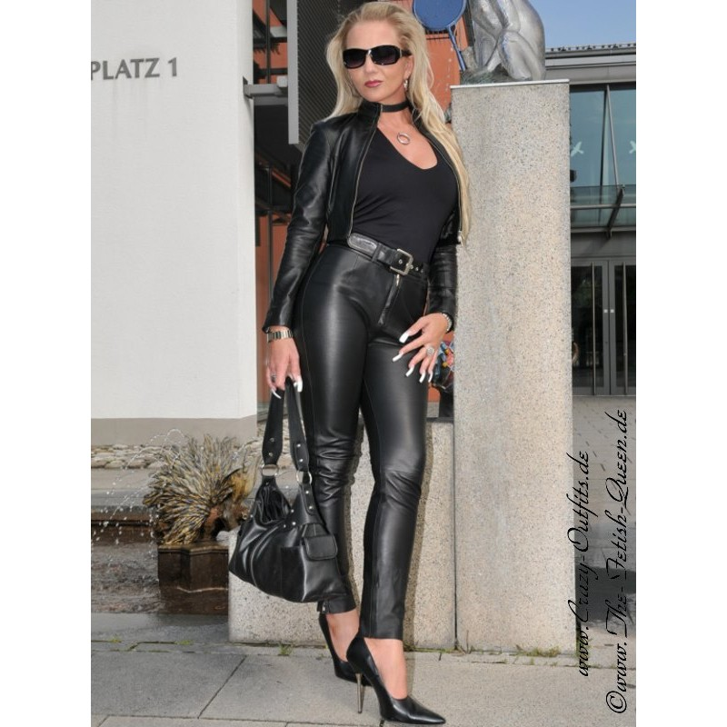 Leather Trouser DS-416 : Crazy-Outfits
