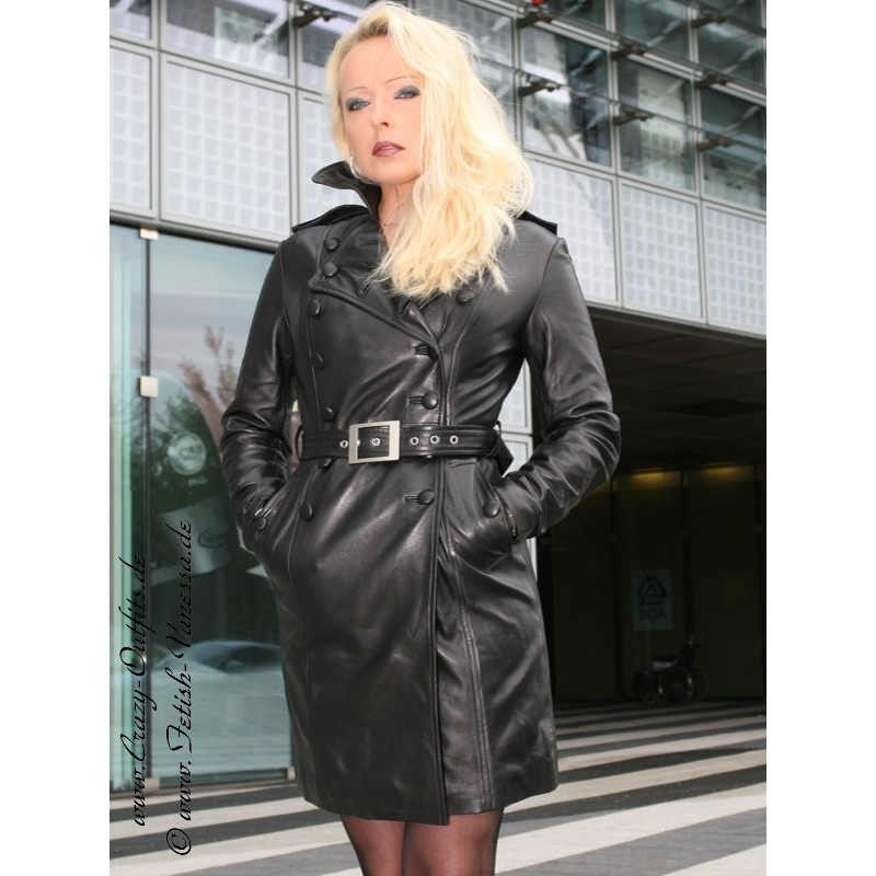 Leather Coat Ds 612 Crazy Outfits Webshop For Leather