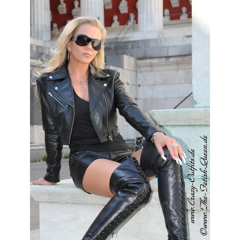 Leather Jacket Ds 616 Crazy Outfits Webshop For