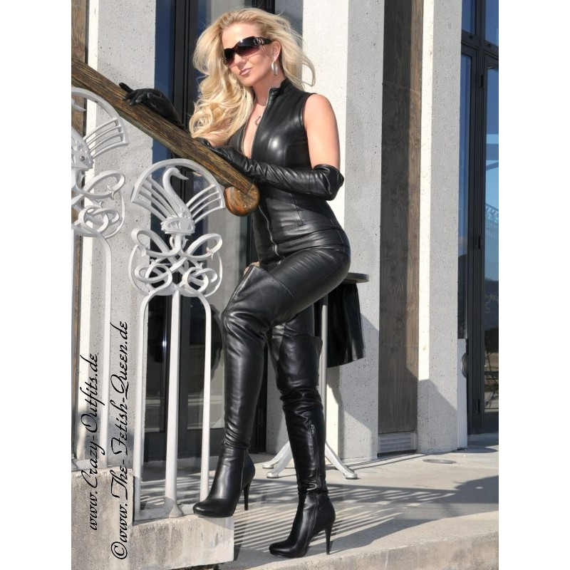 Leather Catsuit DS-700 : Crazy-Outfits
