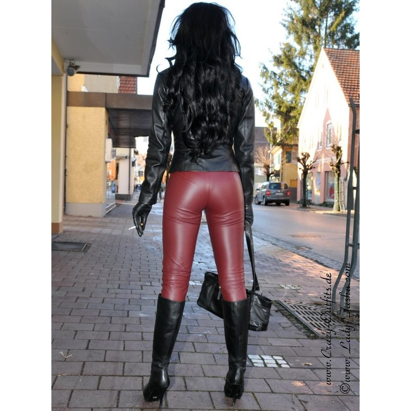 Leather Blouson Sjw 003 Crazy Outfits Webshop For