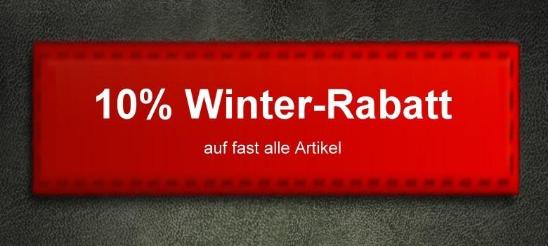 Winter-Rabatt