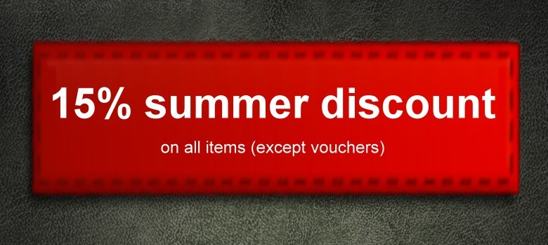 15% summer discount